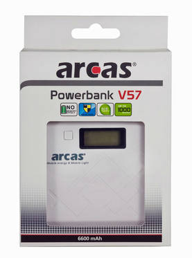 POWERBANK 6600MAH ARCAS V57 - Elektroniikka ja puhelimet - 4260030256730 - 1 5a86a9e24d
