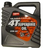 TB 4-T SUPERBIKE OIL 4L 15W-50 - MOTO JA RACING - 6415790330543 - 1