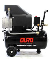 KOMPRESSORI 24L 2,0HP 8BAR DURO - Kompressorit - 6438168070063 - 1