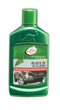 TURTLE WAX BLACK IN A FLASH 300ML GREEN LINE - Autovahat - 5010322776144 - 1