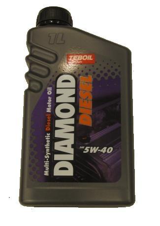 MOOTTORIÖLJY TEBOIL DIAMOND DIESEL 5W40 1L Laadukas moottoriöljy dieseleille! - Löytötavaratalo ...
