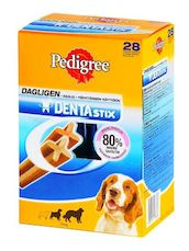 PEDIGREE DENTASTIX MEDIUM 4*180G - Koiran hoito - 5998749107898 - 1